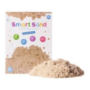 Smart Sand – חול קינטי במארז 2 קילו – צבע טבעי