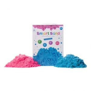 Smart Sand – חול קינטי במארז 2 קילו – ורוד וכחול