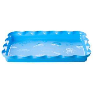 מגש כחול גלים Superkids – לחול קינטי